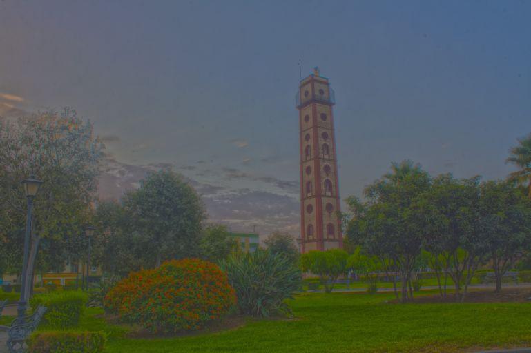 Torre perdigones hdr